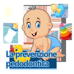La prevenzione pedodontica
